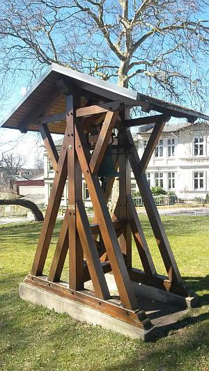Glockenstuhl Kirche Ahlbeck