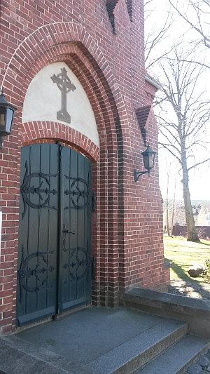 Haupteingang Kirche Ahlbeck